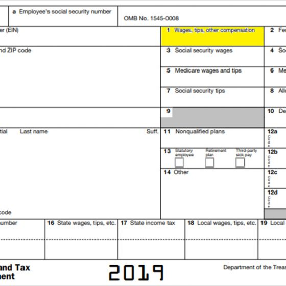 How to Decode Box 1 of Form W-2