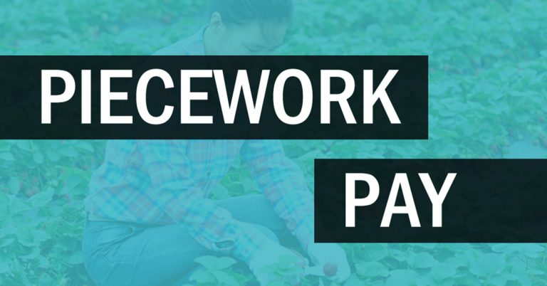 Piecework Pay: Frequently Asked Questions