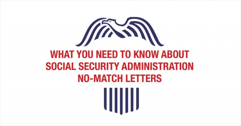 SSN No-Match Letters: What to Do If You Receive One